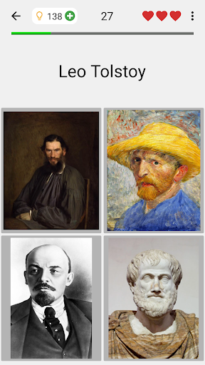 Famous People - History Quiz about Great Persons 3.2.0 screenshots 1
