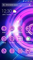 Shine Purple Glow Wheel theme & HD wallpapers