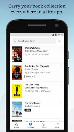 Amazon Kindle Lite – Read millions of eBooks 1.16 screenshots 2