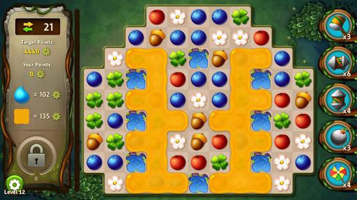 Mystery Forest - Match 3 Game Puzzle (Rich Reward) apkdebit screenshots 1