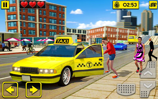 City Taxi Driving Sim 2020: Free Cab Driver Games android2mod screenshots 2