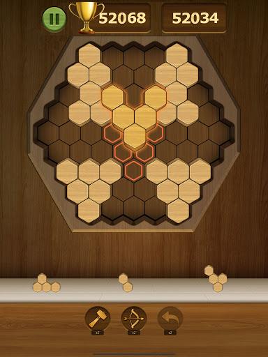 Wood Block Puzzle 2021 - Wooden 3D Cube Puzzle Gem goodtube screenshots 12