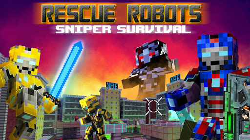 Rescue Robots Sniper Survival 1.101 screenshots 1