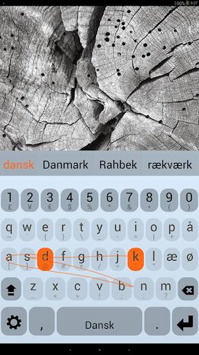 Danish Keyboard Plugin  screenshots 1