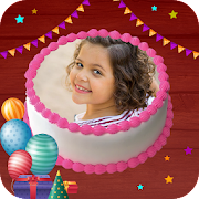 Birthday Cake Editor with Name & Photo Frames 2020