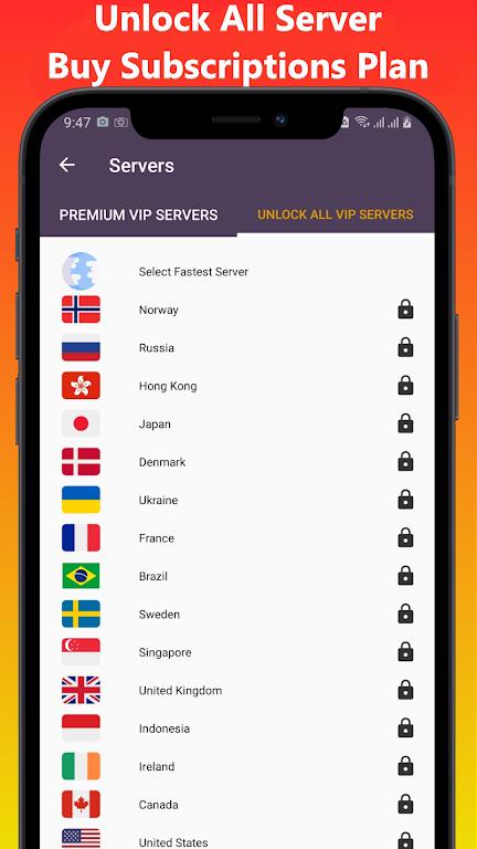VOP HOT Pro Premium VPN -100% secure Safe Browsing  poster 9