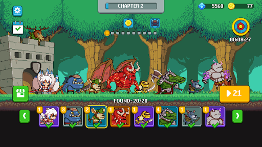 Monsters War: Epic TD Strategy Offline Games moddedcrack screenshots 5