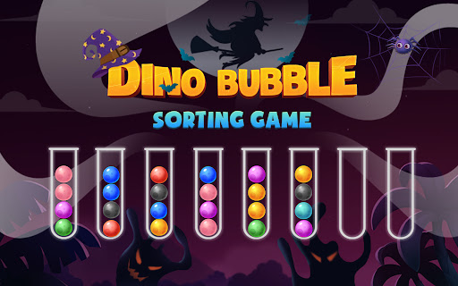 Color Ball Sort Puzzle - Dino Bubble Sorting Game  screenshots 14