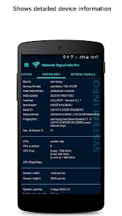 Download Network Signal Info Pro v5.69.42 (Paid) 5