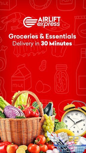Airlift Express - Grocery & Pharmacy Delivery apktram screenshots 1
