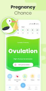 Period Tracker MIA Fem: Ovulation Calculator