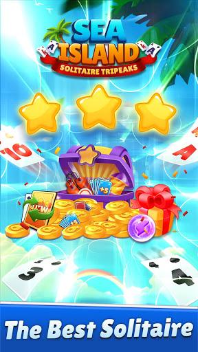 Solitaire TriPeaks: Sea Island - Free Card Games  screenshots 1