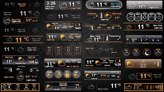 Weather Clock 6