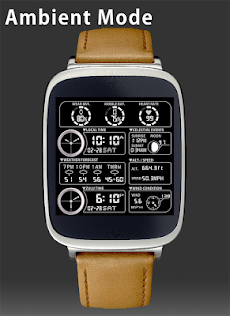F05 WatchFace for Android Wearのおすすめ画像4