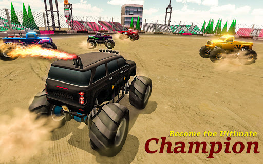 Demolition Derby 2021 - Monster Truck Destroyer modavailable screenshots 10