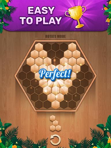 Wooden 100 Block Puzzle - Classic Wood Brain Game screenshots 6