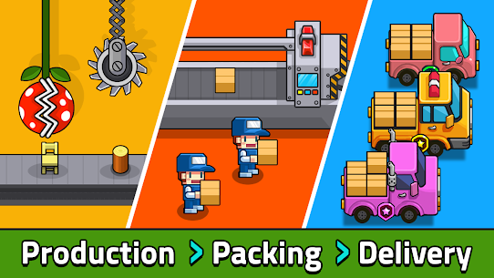 My Factory Tycoon – Idle Game Mod 1.5.0 Apk [Unlimited Money] 2