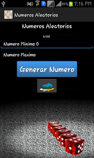 numeros aleatorios screenshot 1