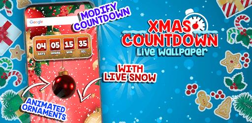Xmas Countdown Live Wallpaper Pragramy ў Google Play