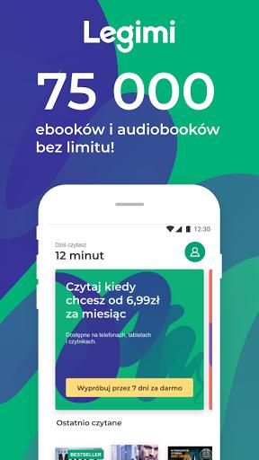 Legimi - ebooki i audiobooki bez limitu modiapk screenshots 1