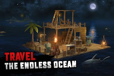 Raft Survival: Ocean Nomad - Simulator Android App Screenshot