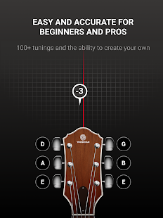 GuitarTuna - Tuner for Guitar Ukulele Bass & more! Screenshot