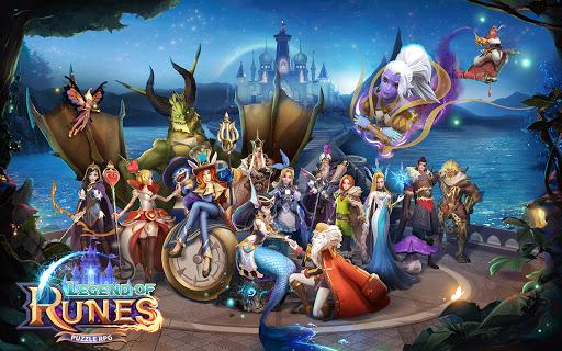 Legend of Runes: Puzzle RPG 1.10.122901 screenshots 1