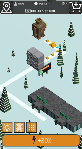 Minr - Gold Idle Incremental Rush Goldmine Tycoon  screenshots 2