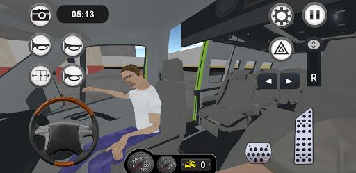 Minibus Bus Transport Driver Simulator apkpoly screenshots 13