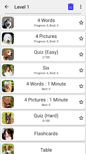 Dogs Quiz - Guess Popular Dog Breeds in the Photos 3.2.2 screenshots 4
