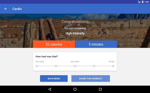 HIIT & Cardio Workout by Fitify 1.6.5 Screenshots 8