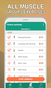 Fitness workouts for women - your coach & trainer