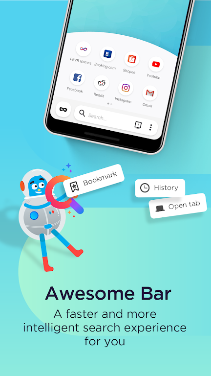 Firefox Lite — Fast and Lightweight Web Browser  poster 2