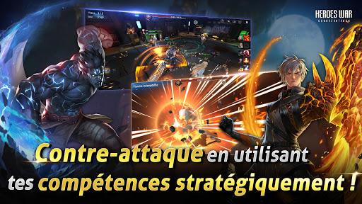 Télécharger Heroes War: Counterattack APK MOD (Astuce) screenshots 2