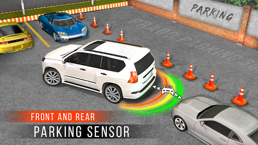 Real Prado Car Parking Games 3D: Driving Fun Games modavailable screenshots 6