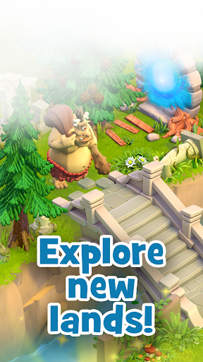 Land of Legends: Building games. Build your city apktram screenshots 2