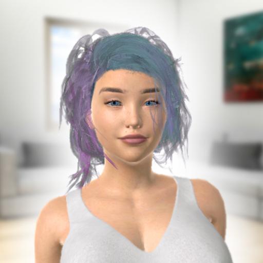 Baixar Alyssa - Virtual & AR Talking Girl Simulator para Android