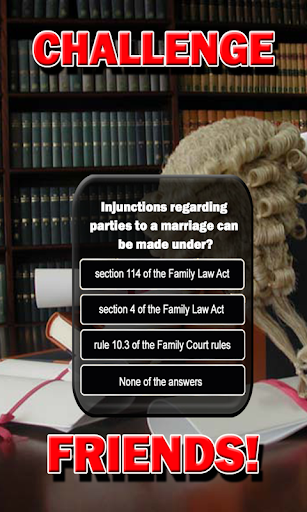 Family Law Trivia - Challenge Your Knowledge Quiz 2.01023 screenshots 10