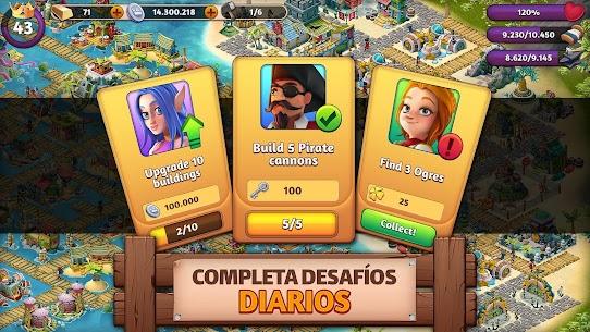 Fantasy Island Sim APK MOD HACK (Dinero Ilimitado) 4