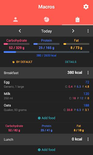 Foto do Macros - Calorie Counter & Meal Planner