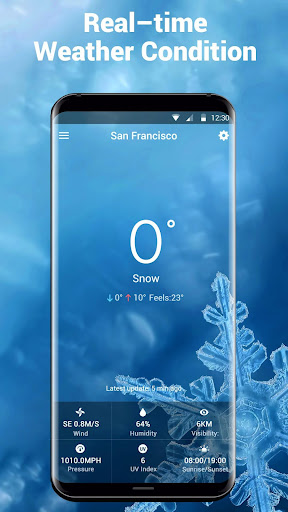 free weather widget pro. screenshot 3