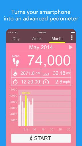 Pedometer - Free Step Counter App & Step Tracker 5.37 Screenshots 4
