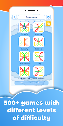 GeoBoard relaxing puzzle game drawing lines shapes 1.4.0. screenshots 1