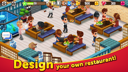 Food Street - Restaurant Management & Food Game  screenshots 1