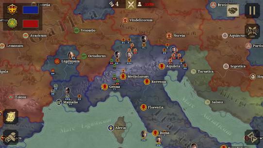 Great Conqueror: Rome MOD APK 1.6.2 (Unlimited Medals) 12
