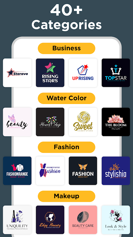 Logo Maker - Graphic Design & Logo Templates poster 1