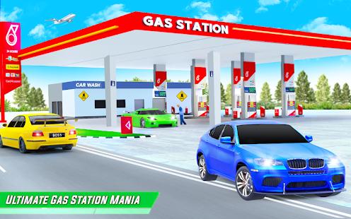 Gas Station Car Driving Simulator Car Parking Game  Screenshots 13