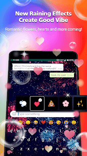 Rockey Keyboard -Transparent Emoji Keyboard GB Yo Screenshot