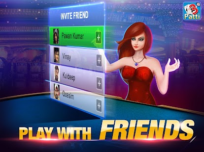 Teen Patti by Octro - Indian Poker Card Game Screenshot