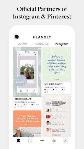 PLANOLY: Schedule Posts for Instagram & Pinterest  Screenshots 2